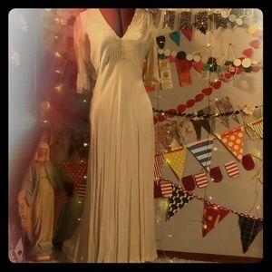 Bias Cut 1930s Wedding Night Gown (L)